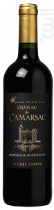 Château de Camarsac Prince Noir - Château de Camarsac - 2017 - Rouge