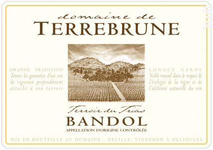 Domaine de Terrebrune - Bandol - Domaine de Terrebrune Bandol - 2008 - Blanc