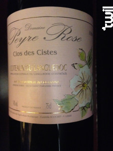 Clos des Cistes - Domaine Peyre Rose - 2006 - Rouge