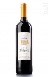 Château Maresque Cuvée Thomas - Château Maresque - 2015 - Rouge