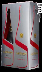 Mumm Cordon Rouge - Coffret 2 Bouteilles - G.H. Mumm - Non millésimé - Effervescent