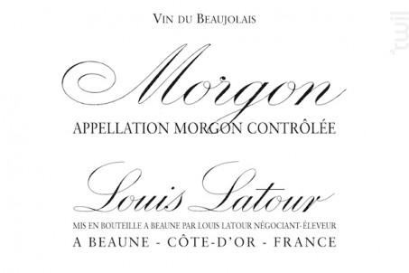 MORGON - Maison Louis Latour - 2016 - Rouge