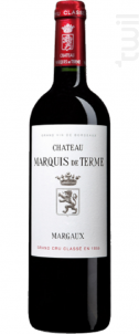 Château Marquis de Terme - Château Marquis de Terme - 2013 - Rouge