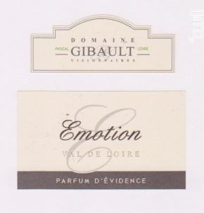 Domaine Gibault – Emotion - Domaine Pascal Gibault - 2016 - Rouge