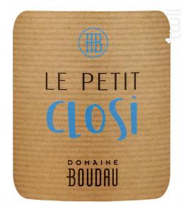 Petit Closi - Domaine BOUDAU - 2020 - Rosé