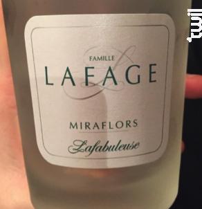Miraflors Lafabuleuse - Domaine Lafage - 2020 - Blanc