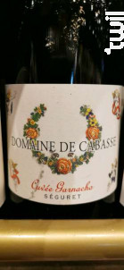 Garnacho - Domaine de Cabasse - 2017 - Rouge