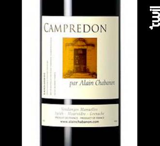 Campredon - Domaine Alain Chabanon - 2015 - Rouge