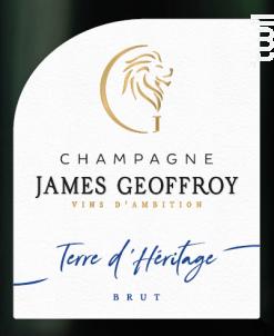 Terre d'Héritage Brut - Champagne James Geoffroy - Non millésimé - Effervescent