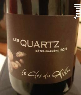 Les Quartz - Clos du Caillou - 2015 - Rouge