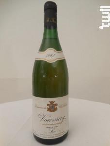 Vouvray Sec - DOMAINE DU CLOS NAUDIN - 1991 - Blanc