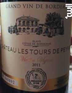 Château les Tours de Peyrat - Château Les Tours de Peyrat - 1988 - Rouge