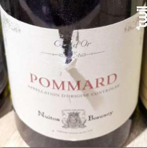 Pommard - Vignerons Associés - Nuiton-Beaunoy - 2016 - Rouge