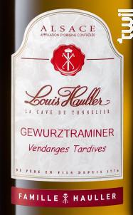 Gewurztraminer Vendanges Tardives - Louis Hauller - Non millésimé - Blanc