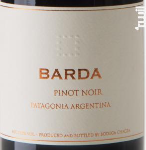 Barda - Bodega Chacra - 2015 - Rouge