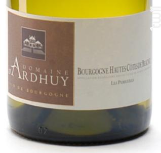 Bourgogne Hautes Côtes de Beaune Les Perrières - Domaine d'Ardhuy - 2019 - Blanc