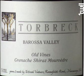 Old Vines - Grenache, Syrah, Mourvèdre - TORBRECK - 2015 - Rouge
