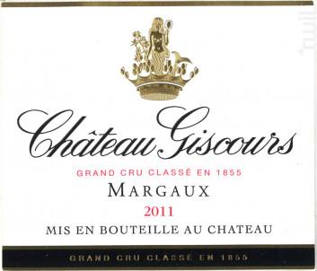 Château Giscours - Château Giscours - 2011 - Rouge