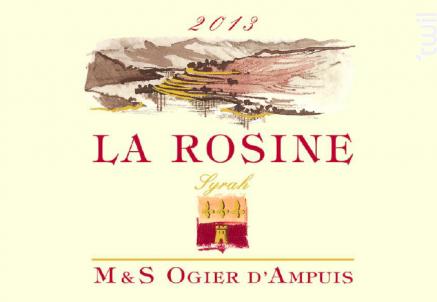 La Rosine - Michel & Stéphane Ogier D'Ampuis - 2017 - Rouge