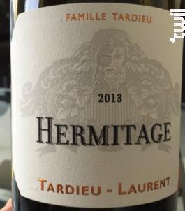 Hermitage - Maison Tardieu-Laurent - 2013 - Rouge