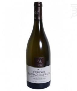 Hautes Côtes De Beaune Blanc Vieilles Vignes - Domaine Parigot - 2015 - Blanc