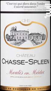 Château Chasse-Spleen - Château Chasse-Spleen - 2008 - Rouge