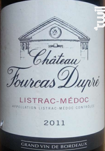 Château Fourcas Dupré - Château Fourcas Dupré - 2011 - Rouge