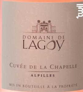 La Chapelle - Domaine de Lagoy - 2017 - Rosé