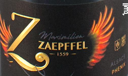 Phénix - Famille Zaepffel - 2018 - Blanc