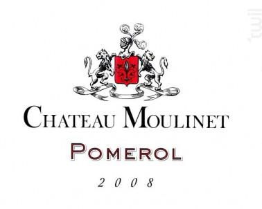 Château Moulinet - Château Moulinet - 2008 - Rouge