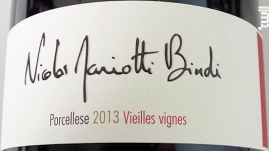 Porcellese Vieilles Vignes - Nicolas Mariotti Bindi - 2015 - Rouge