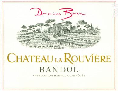 Château La Rouvière - Domaines Bunan • Château la Rouvière - 2013 - Rouge