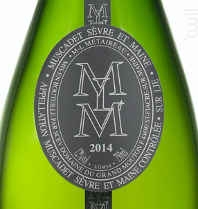 MLM - DOMAINE LOUIS METAIREAU GRAND MOUTON - 2017 - Blanc