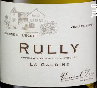 Rully - La Gaudine - Domaine de l'Ecette - 2017 - Blanc