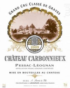 Château Carbonnieux - Château Carbonnieux - 2009 - Blanc