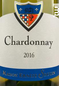 Chardonnay - Maison Ernest Seguin - 2014 - Blanc