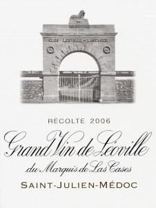 Grand Vin de Léoville du Marquis de Las Cases - Château Léoville Las Cases - 2006 - Rouge