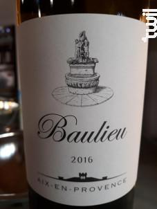 Baulieu - Villa Baulieu - 2016 - Rouge