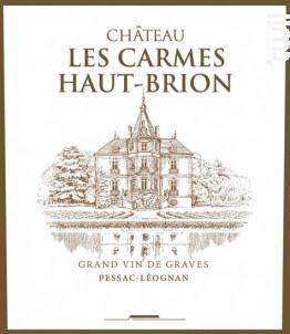 Château Les Carmes Haut-Brion - Château Les Carmes Haut-Brion - 2012 - Rouge