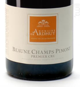 Beaune 1er Cru Les Champs Pimont - Domaine d'Ardhuy - 2018 - Rouge