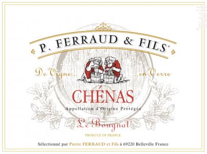 Chénas Le Bougnat - P. Ferraud & Fils - 2018 - Rouge