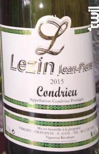 Condrieu - Domaine Lezin - 2016 - Blanc