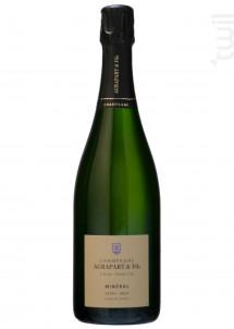 Minéral Extra Brut Blanc de Blancs Grand Cru Millésimé - Champagne Agrapart et Fils - 2013 - Effervescent