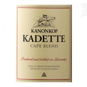 Kadette - cape blend - KANONKOP - 2017 - Rouge