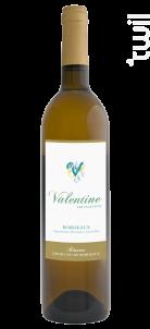 Valentine par Valentine - Château Lamothe de Haux - 2018 - Blanc