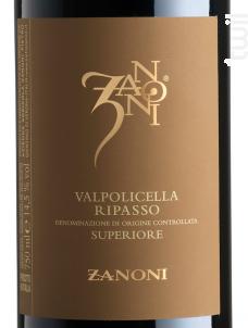 Zanoni Valpolicella Ripasso - Zanoni - 2015 - Rouge