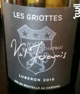 Les Griottes - Chateau Val Joanis - 2015 - Rouge
