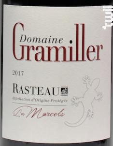 Les Marcels - Domaine Gramiller - 2017 - Rouge