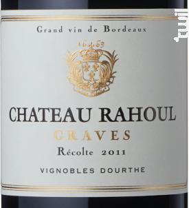 Château Rahoul - Vignobles Dourthe - Château Rahoul - 2014 - Rouge