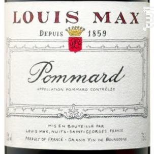 Pommard - Louis Max - 2017 - Rouge